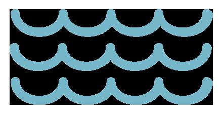 SCYCC Waves Blue